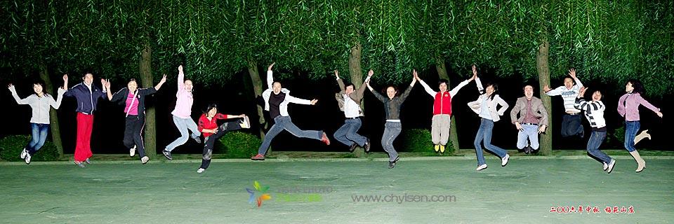 特色集体照-北京创意团体照